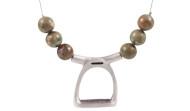 FRJS2 - Stirrup Necklace Rhyolite