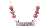 FRJJ4 - Jump Necklace Rhodonite