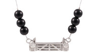 FRJJ3 - Jump Necklace Black Agate
