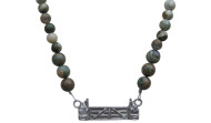 FRJ2F - Jump Necklace Full Strand Rhyolite