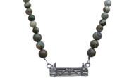FRJ2F - Jump Necklace Full Strand Rhyolite