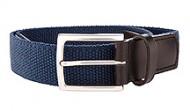 014131 Navy Stretch Web Belt