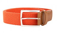014131 Orange Stretch Web Belt