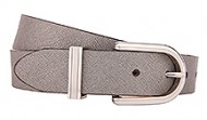FR114089 Leather Belt Metallic